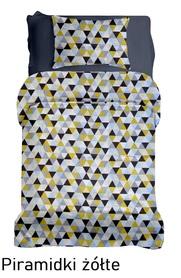 Pościel DZIECIĘCA 140x200cm dla dziecka kolorowa Piramidki żółte