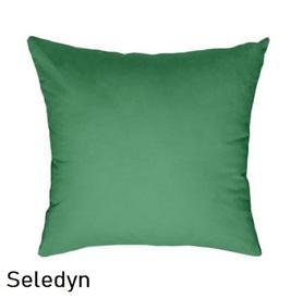 Poszewka na poduszkę 40x40cm, jasiek, bawełna 100% Seledyn