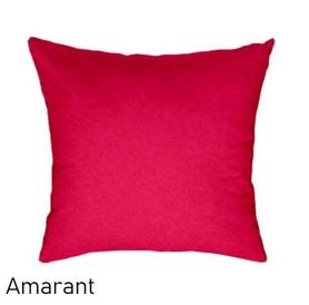 Poszewka na poduszkę 40x40cm, jasiek, bawełna 100% Amarant