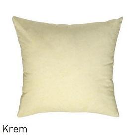 Poszewka na poduszkę 40x40cm, jasiek, bawełna 100% Krem