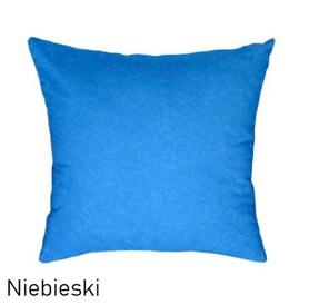 Poszewka na poduszkę 40x40cm, jasiek, bawełna 100% Niebieski