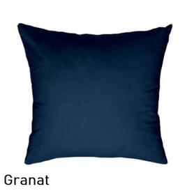 Poszewka na poduszkę 40x40cm, jasiek, bawełna 100% Granat