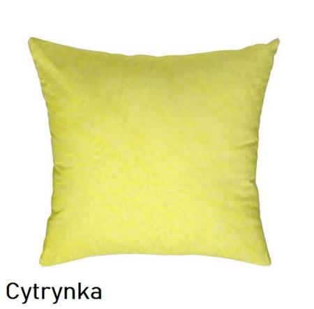 Poszewka na poduszkę 40x40cm, jasiek, bawełna 100% Cytrynka 5317